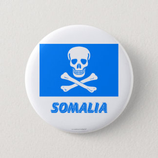 New Flag of Somalia (This is a joke!) 2 Inch Round Button