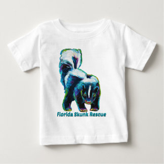 New Florida Skunk Rescue Design Baby T-Shirt
