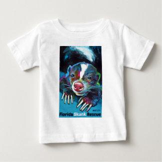 New Florida Skunk Rescue Design Baby T-Shirt