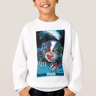 New Florida Skunk Rescue Design Sweatshirt