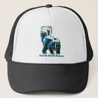 New Florida Skunk Rescue Design Trucker Hat