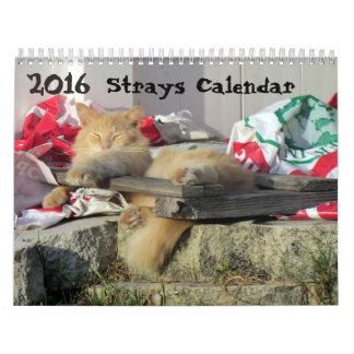 *****NEW for 2016!!! ***** Strays Calendar