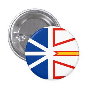NEW FOUNDLAND Flag 1 Inch Round Button