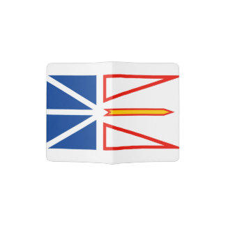 NEW FOUNDLAND Flag Passport Holder