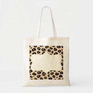 New fresh tote bag Edition : with Jaguar print