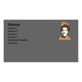 New Frobama brown Business Cards
