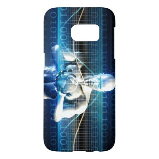 New Future Technology within Palm of Your Hand Samsung Galaxy S7 Case