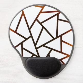 New Geometric Black Fire Gradient Pattern MousePad