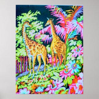 New Giraffe Poster