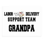 New Grandbaby New Grandpa Postcard