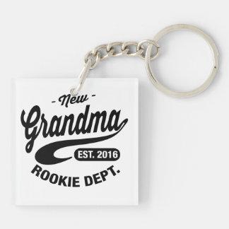 New Grandma 2016 Keychain