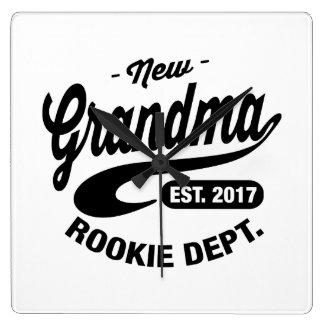New Grandma 2017 Clock
