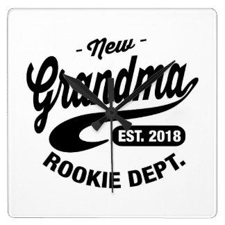 New Grandma 2018 Clocks