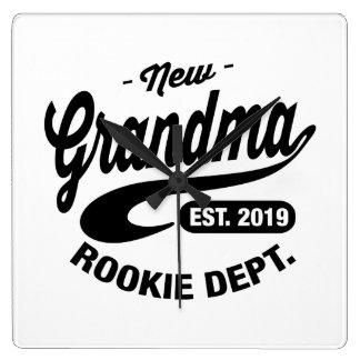 New Grandma 2019 Wall Clock