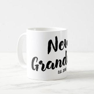 New Grandma Est. 2018, Future Grandmother Gift Mug