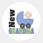 New Grandma Gift Sticker