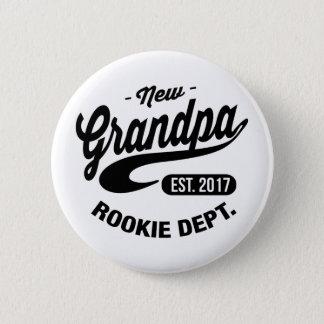 New Grandpa 2017 2 Inch Round Button