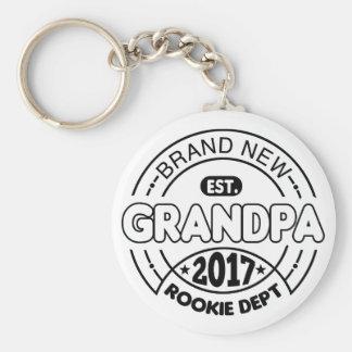 New Grandpa 2017 Keychain