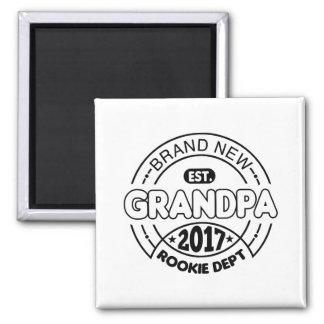 New Grandpa 2017 Magnet