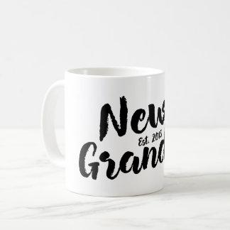 New Grandpa Est. 2018, Future Grandfather Mug