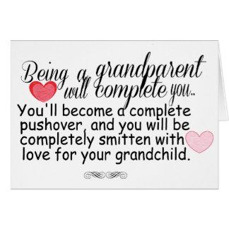 New Grandparents Card