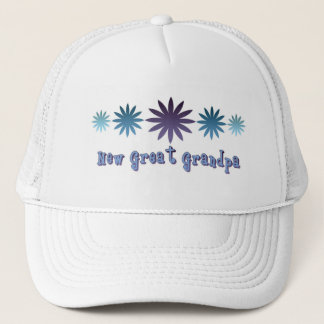 New Great Grandpa Trucker Hat