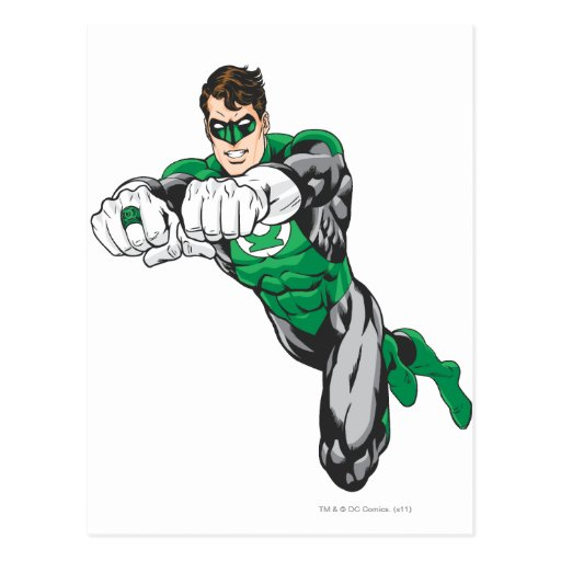 New Green Lantern 1 Post Card