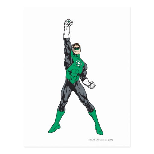 New Green Lantern 2 2 Postcards