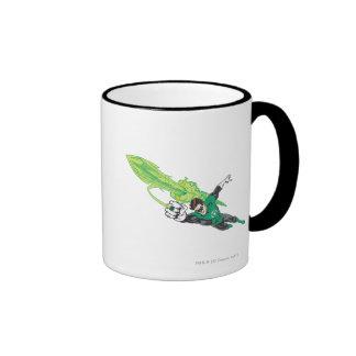 New Green Lantern 5 Ringer Coffee Mug