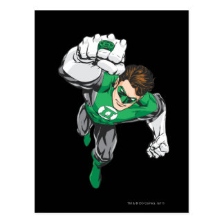 New Green Lantern 6 Post Card