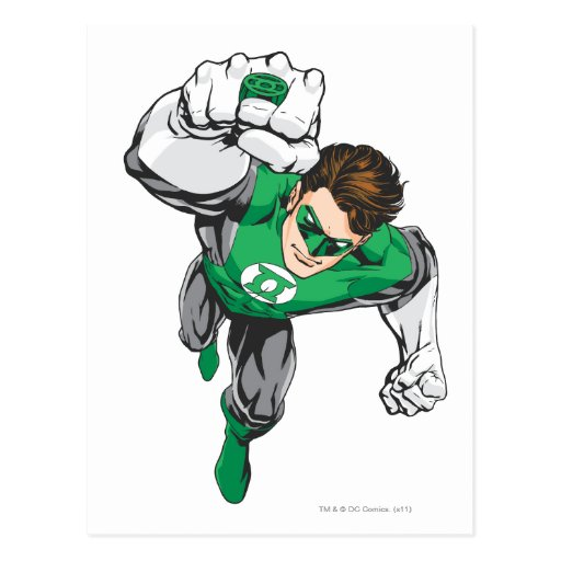 New Green Lantern 6 Postcard