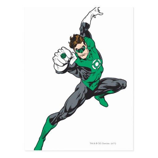 New Green Lantern 7 Postcard