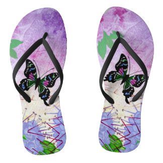 New Guinea Delight Flip Flops