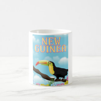New Guinea Toucan travel poster Coffee Mug