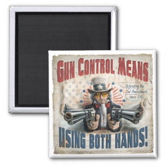 New Gun Rights Gear Square Magnet