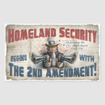 New Gun Rights Gear Sticker