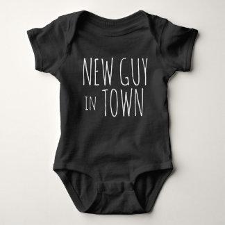 New Guy in Town Baby Bodysuit