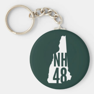 New Hampshire 4000 Footer Keychain