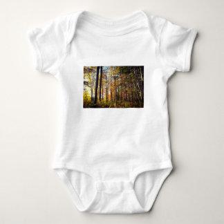 New Hampshire Autumn Forest Baby Bodysuit