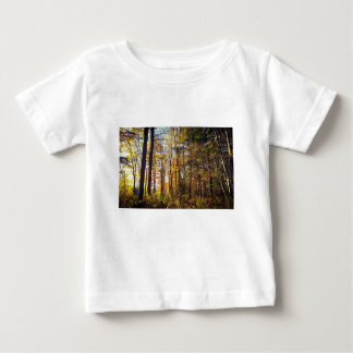 New Hampshire Autumn Forest Baby T-Shirt