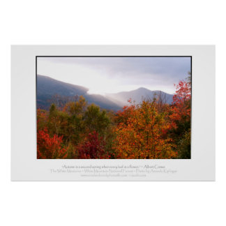 New Hampshire Autumn Posters