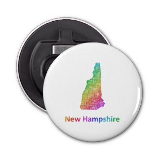 New Hampshire Button Bottle Opener