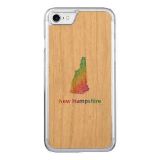 New Hampshire Carved iPhone 8/7 Case