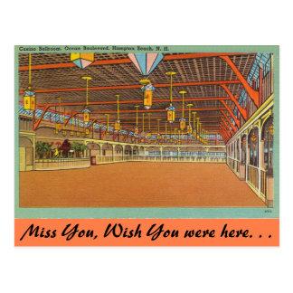 New Hampshire, Casino Ballroom, Hampton Beach Postcard