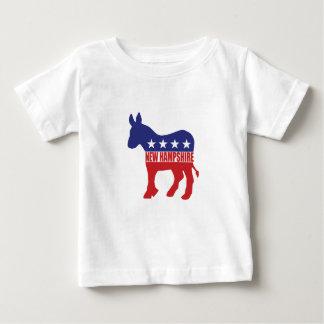 New Hampshire Democrat Donkey Baby T-Shirt