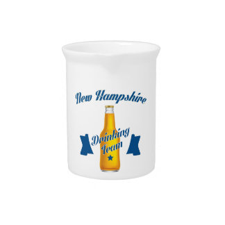 New Hampshire Drinking team Drink Pitcher
