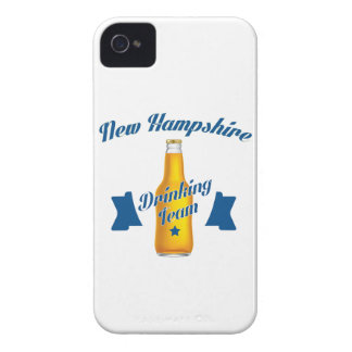 New Hampshire Drinking team iPhone 4 Case-Mate Case