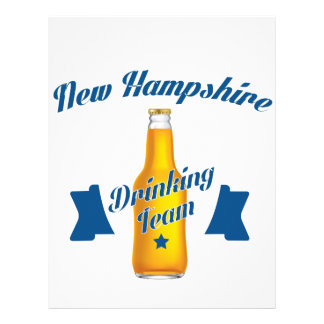 New Hampshire Drinking team Letterhead