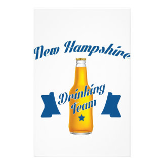 New Hampshire Drinking team Stationery