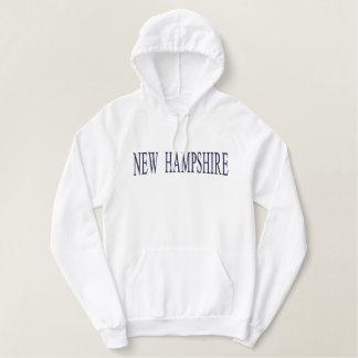 New Hampshire Embroidered Sweatshirt